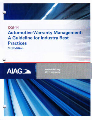 CQI-14-3-Automotive Warrantee Management