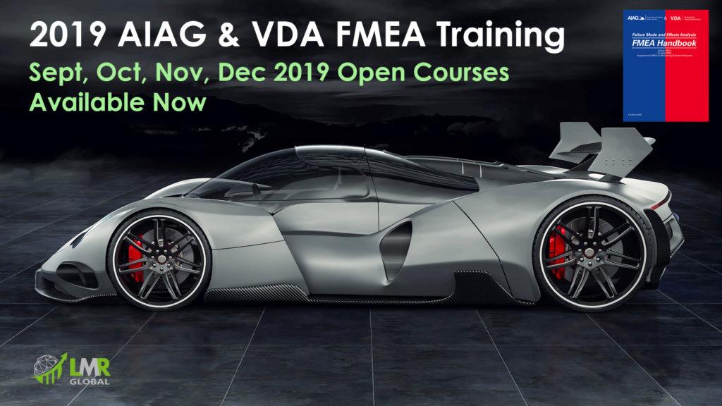 AIAG VDA FMEA Training Courses