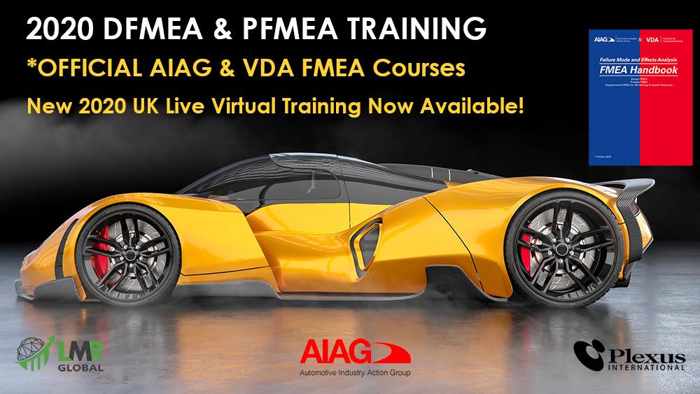 DFMEA & PFMEA Training Courses